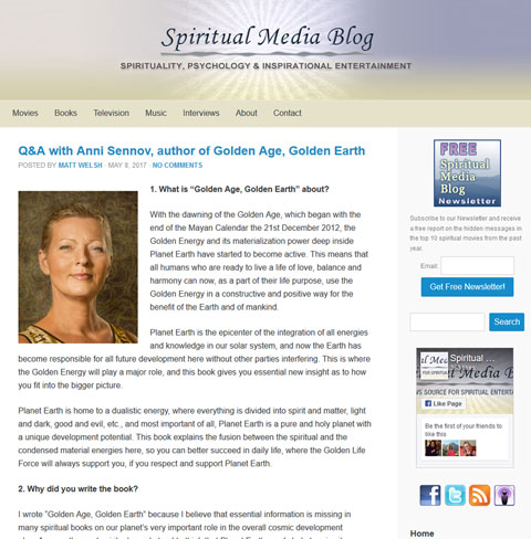 Spiritual Media Blog